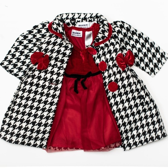 Blueberi Boulevard Other - Blueberi Blvd Baby Girl 2pc Dress Set 12m